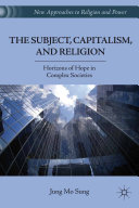 Pdf The Subject, Capitalism, and Religion Telecharger