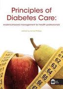 Principles of Diabetes Care Book