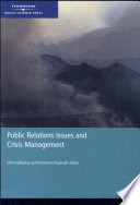 Public Relations Issues and Crisis Management