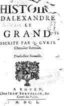Histoire d'Alexandre le Grand