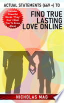 Actual Statements 669 To Find True Lasting Love Online Book