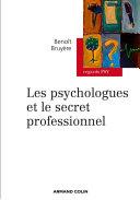 Pdf Les psychologues et le secret professionnel Telecharger
