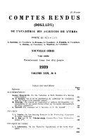 Comptes Rendus  Doklady  de L Acad  mie Des Sciences de L URSS  Book PDF