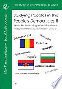 Studying Peoples in the People s Democracies II