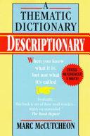 Descriptionary Book