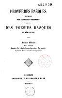 Proverbes basques