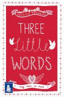 Three Little Words Book PDF