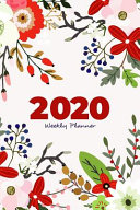 2020 Weekly Planner   Organizer  One Week at a Glance for Women
