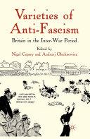 Varieties of Anti Fascism