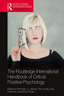 Pdf The Routledge International Handbook of Critical Positive Psychology Telecharger
