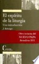 El espíritu de la liturgia