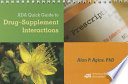 ADA Quick Guide to Drug Supplement Interactions Book