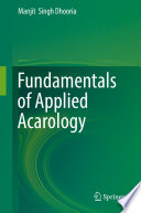 Fundamentals of Applied Acarology Book