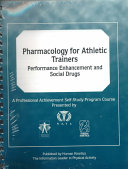 Pharmacology for Athletic Trainers