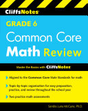Cliffsnotes Grade 6 Common Core Math Quick Review