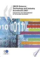 Oecd Science Technology And Industry Scoreboard 2007 Book PDF