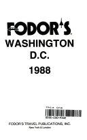 Fodor's Washington D. C.