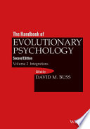 The Handbook of Evolutionary Psychology, Volume 2