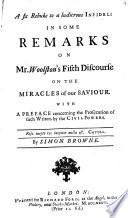 A Fit Rebuke to a Ludicrous Infidel: