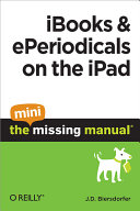 Pdf iBooks and ePeriodicals on the iPad: The Mini Missing Manual
