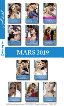 11 romans Azur + 1 gratuit (n°4059 à 4069 - Mars 2019)