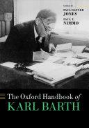 The Oxford Handbook of Karl Barth