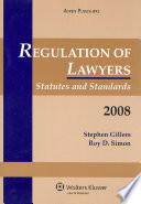 Regulation of Lawyers 2008