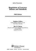 Regulation Of Lawyers 2008