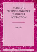 Learning a Second Language Through Interaction