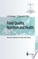 Food Quality  Nutrition and Health Book