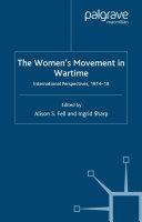 The Women's Movement in Wartime Pdf/ePub eBook