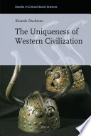 The Uniqueness Of Western Civilization Book PDF