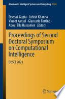 Proceedings of Second Doctoral Symposium on Computational Intelligence