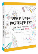 Dear Data Postcard Kit Book