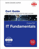 link to CompTIA IT fundamentals+ FC0-U61 cert guide in the TCC library catalog
