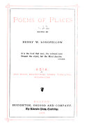 Poems of Places: Asia