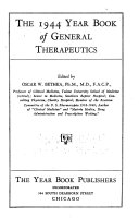The Year Book of General Therapeutics