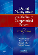Dental Management of the Medically Compromised Patient   Pageburst on VitalSource