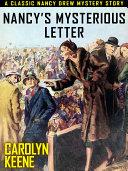 Pdf Nancy's Mysterious Letter Telecharger