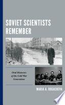 Soviet Scientists Remember Book