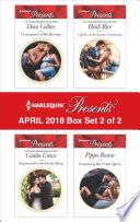 Harlequin Presents April 2018 Box Set 2 Of 2
