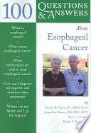 100 Questions Answers About Esophageal Cancer
