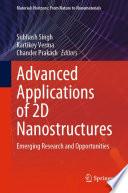 Advanced Applications of 2D Nanostructures