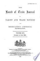 Board of Trade Journal Book