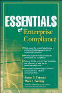 Essentials of Enterprise Compliance Book