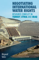 Negotiating International Water Rights