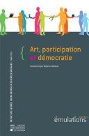 Émulations n°9 : Art, participation et démocratie