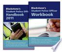 Blackstone's Student Police Officer Handbook and Workbook Pack