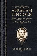 Abraham Lincoln Pdf/ePub eBook