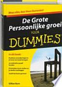 De Grote Persoonlijke Groei Voor Dummies